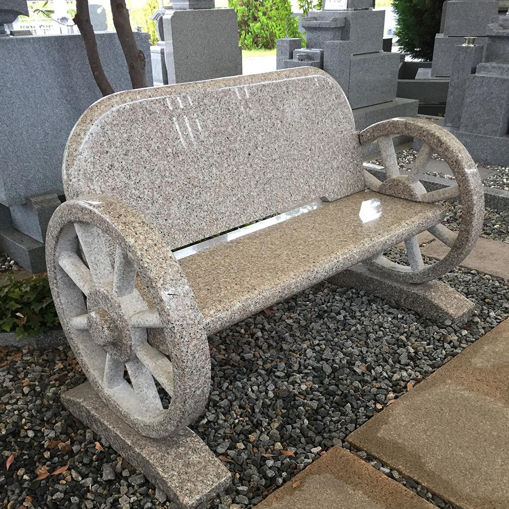 石のベンチ(琴平展示場)